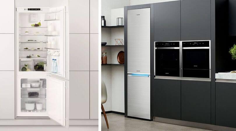Стоящий холодильник вместо встроенного